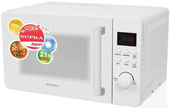 цена на Микроволновая печь Supra MWS-2103TW 21 л белый