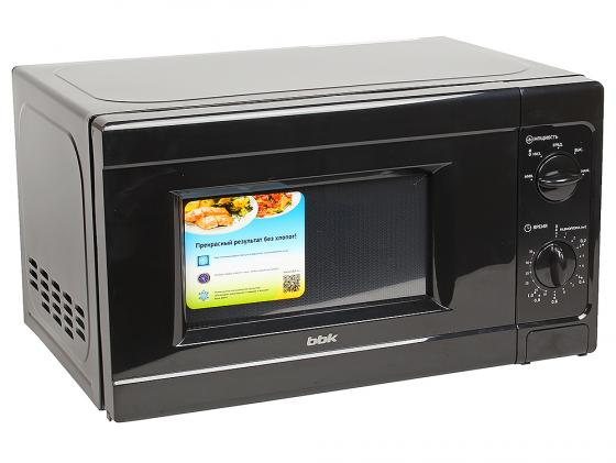 Микроволновая печь BBK 20MWS-709M/B 700 Вт чёрный свч bbk bbk 20mwg 742t w g 700 вт белый