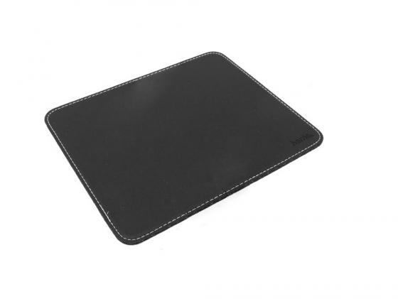 Коврик для мыши Hama H-54745 Leather Look кожа черный цена и фото