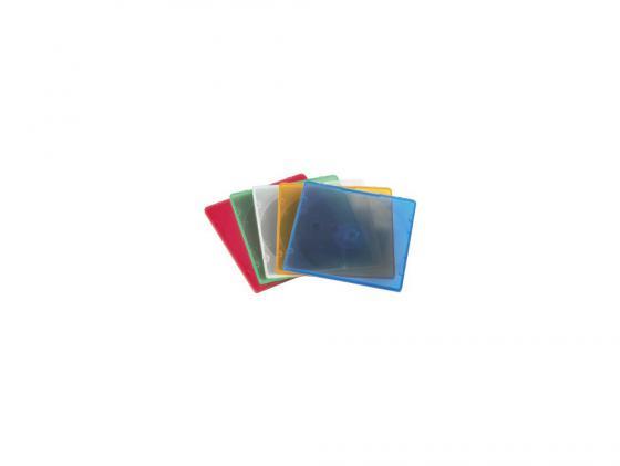 Коробка HAMA для 1 CD 5 цветов 20шт H-11712 hama h 86043 1