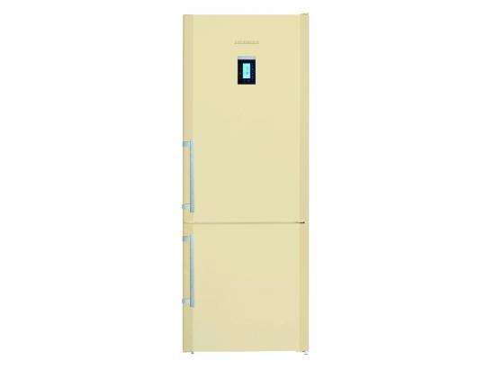 Холодильник Liebherr CBNPbe 5156 бежевый двухкамерный холодильник liebherr cnpesf 5156 20