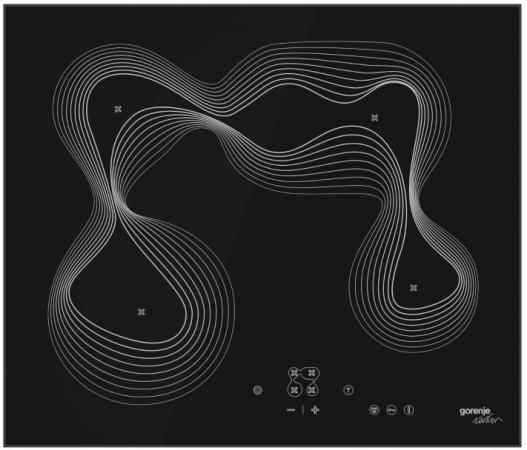 Варочная панель электрическая Gorenje ECT680KRB черный gorenje ect62b
