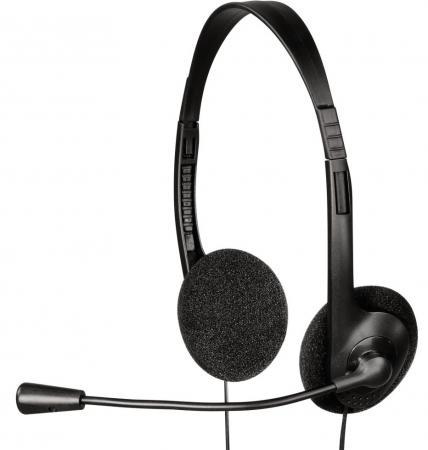 Гарнитура HAMA HS-101 черный 53971/53999 цена