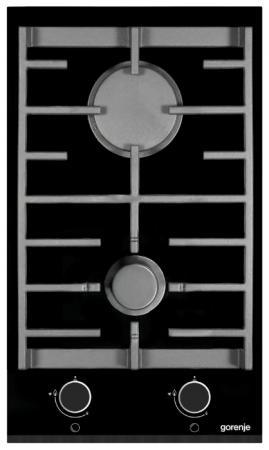 Варочная панель газовая Gorenje GC341UC черный газовая варочная панель neff t27cs59s0