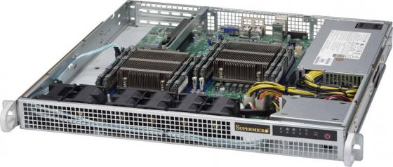 Серверная платформа Supermicro SYS-6018R-MD 1U LGA2011-3 C612 8xDDR4 2x2.5 2xGigabit Ethernet 500Вт 46pc spanner socket set 1 4 inch car repair tool ratchet torque wrench combo tools set auto repairing tool hand tool