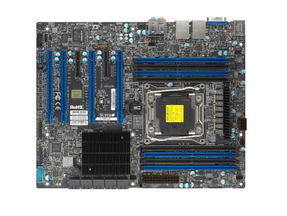 Материнская плата Supermicro MBD-X10SRA-O Socket 2011-3 C612 8xDDR4 4xPCI-E 16x 2xPCI-E 1x 10 ATX материнская плата supermicro mbd x10sra o socket 2011 3 c612 8xddr4 4xpci e 16x 2xpci e 1x 10xsataiii atx