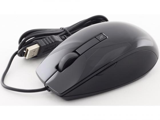Мышь проводная DELL Laser Scroll чёрный USB 570-10523 цена и фото