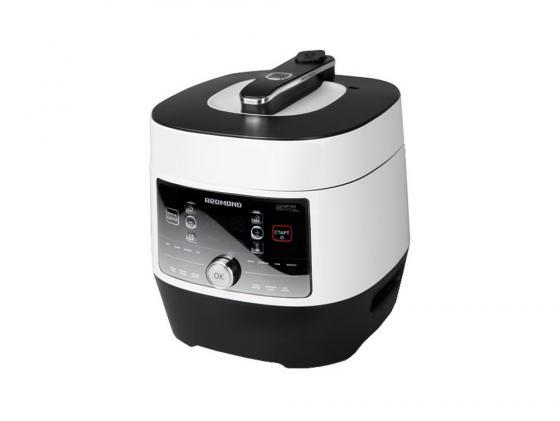 Мультиварка Redmond RMC-P350 900Вт 5л бело-черный redmond ri s220