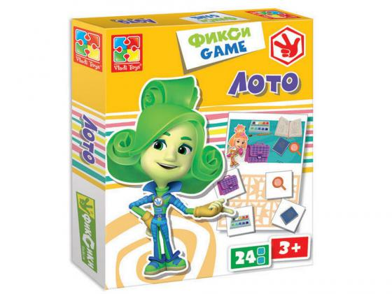 Настольная игра лото Vladi toys Фиксики VT2107-03 vladi toys настольная игра мемо фиксики vladi toys