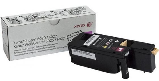 Фото - Картридж Xerox 106R02761 для Xerox WorkCentre 6025 WorkCentre 6027 Phaser 6020 Phaser 6022 1000 Пурпурный картридж xerox 106r01075 yellow для phaser 6300 6350 4000стр