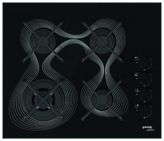 Варочная панель газовая Gorenje GC650KRB черный сенсорная панель koyo gc 56 lc2 10 4 90days shenfa gc 56 lc2