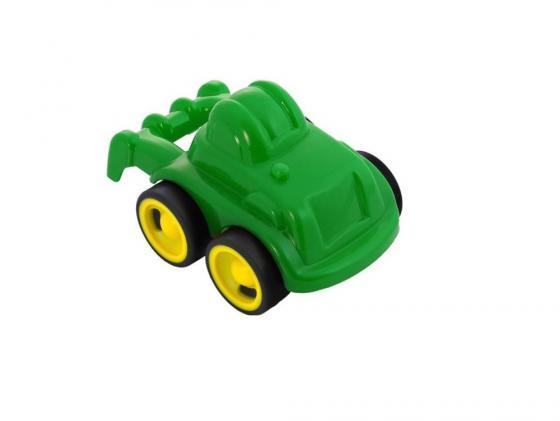 Трактор Miniland 27484 1 шт 12 см зеленый miniland interstar links 68 деталей