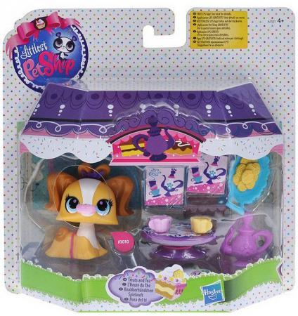Игровой набор Hasbro Littlest Pet Shop Деликатесы А1321 игровой набор hasbro littlest pet shop игровой набор большая семейка