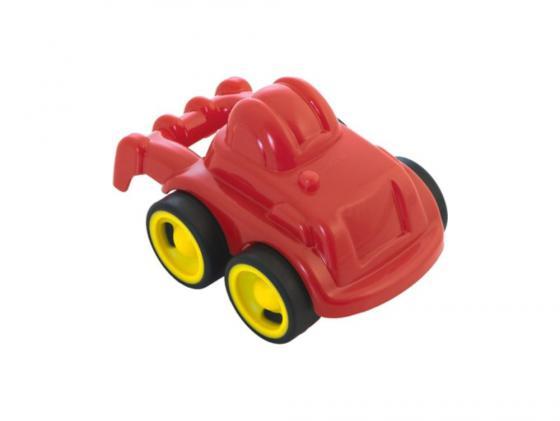 Трактор Miniland Мини-машина 1 шт 12 см красный 27484 мини машинка miniland такси 9 см синий 27507