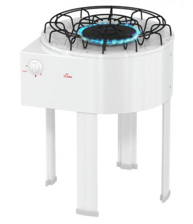Газовая плита Flama DVG 4101 W белый