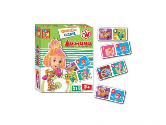 Настольная игра развивающая Vladi toys Домино. Фиксики VT2107-01