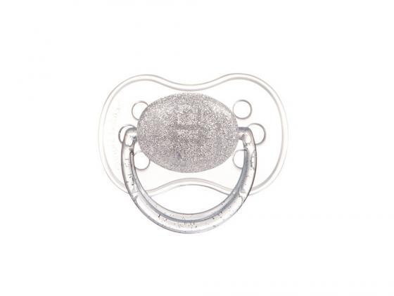 Фото - Пустышка Canpol Лунный свет круглая латекс классическая от 6 месяцев серебристый 22/617 [супермаркет] jingdong геб scybe фил приблизительно круглая чашка установлена в вертикальном положении стеклянной чашки 290мла 6 z