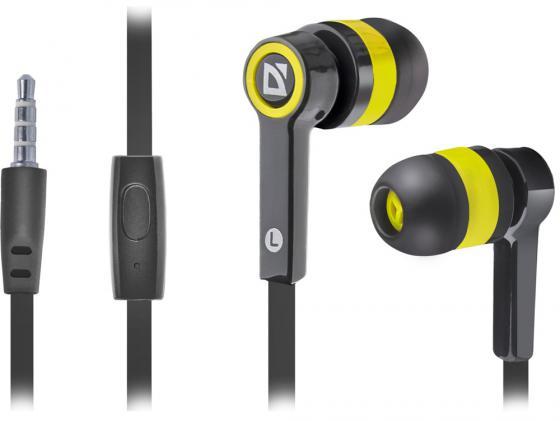 Гарнитура Defender Pulse-420 черно-желтый 63421 гарнитура defender pulse 420 yellow