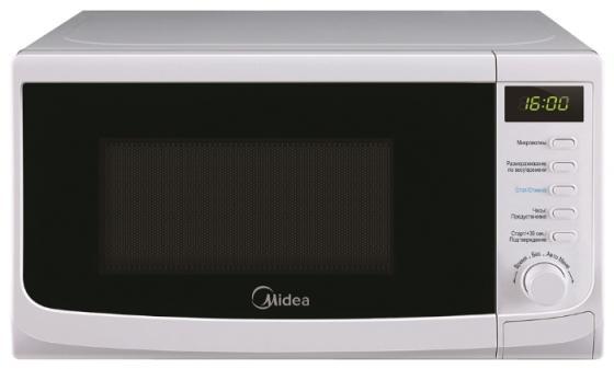 Микроволновая печь Midea AM820CWW-W 800 Вт белый цена и фото