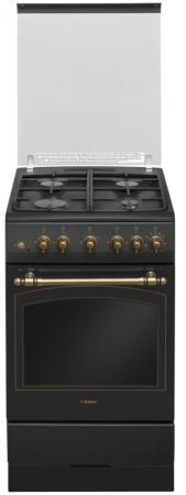 Газовая плита Hansa FCGA52109 черный цена и фото