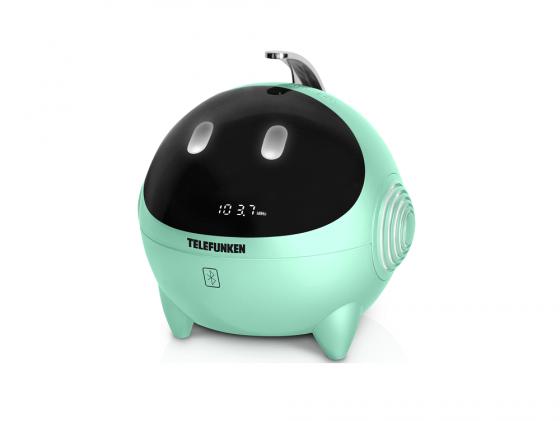 Радиоприемник Telefunken TF-1634UB мятно-белый радиоприемник rolsen rfm 330