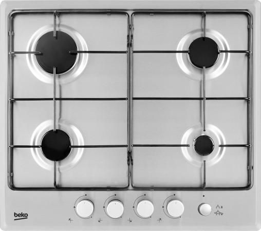 Варочная панель газовая Beko HIMG 64233 SX серебристый цена