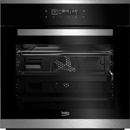 Электрический шкаф Beko BIMM25400XMS серебристый электрический духовой шкаф beko bis 25500 xms