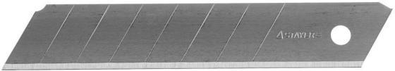 Лезвия Stayer PROFI сегментированные 18мм 10шт 0915-S10 лента stayer profi клейкая противоскользящая 50мм х 5м 12270 50 05