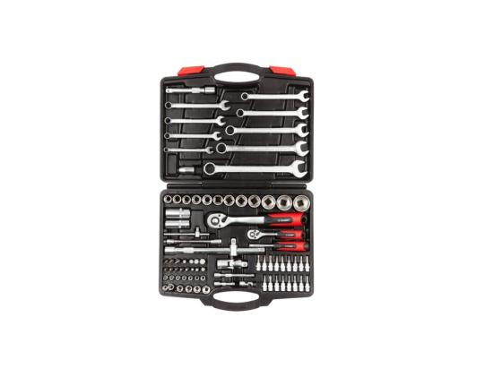 Набор торцовых головок Зубр МАСТЕР 82шт 27635-H82 набор инструментов зубр 82 предмета мастер 27635 h82