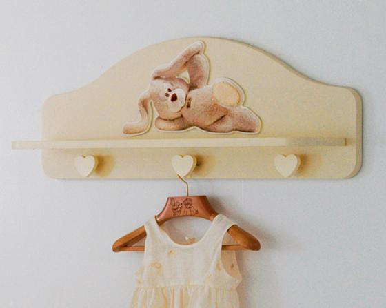 Вешалка-полка Baby Expert Cremino (крем) кровать baby expert кровать baby expert abbracci by trudi крем