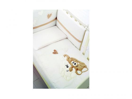Постельный сет Baby Expert Cremino (крем) кровать baby expert кровать baby expert abbracci by trudi крем