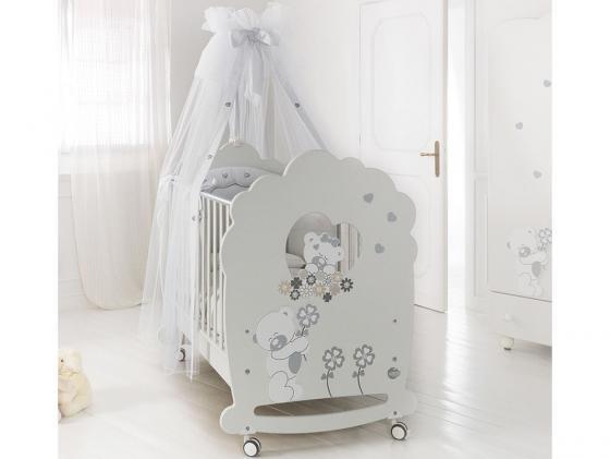 Кроватка-качалка Baby Expert Serenata (белый) набор малыши в кор 12шт