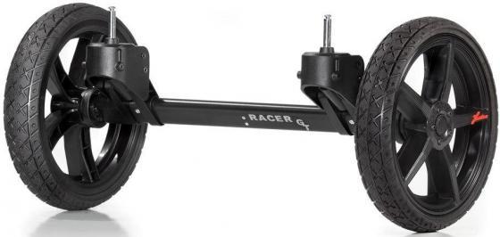 Система сменных колес Quad для коляски Hartan Racer GT (черный/оранжевый) hartan адаптер на коляски hartan для maxi cosi черный