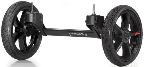 Система сменных колес Quad для коляски Hartan Topline S (черный/оранжевый) hartan адаптер на коляски hartan для maxi cosi черный