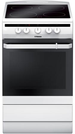 Электрическая плита Hansa FCCW54002 белый цена и фото