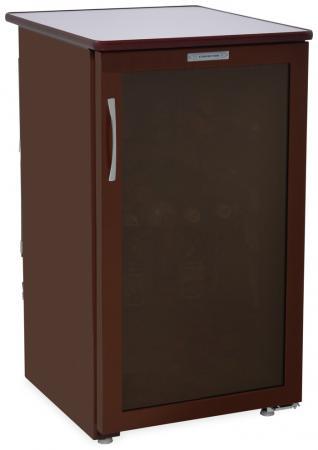 лучшая цена Холодильник Саратов 505-01 (КШ-120) коричневый