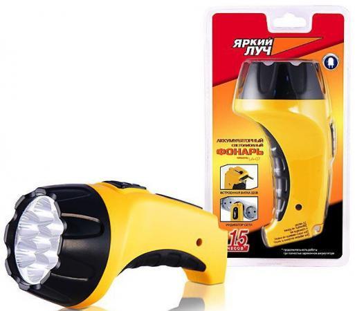 цена на Фонарь Яркий луч LA-07 светодиодный желтый 4606400104292