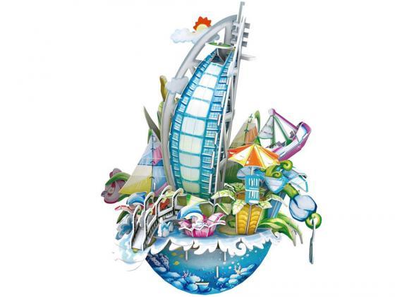 Пазл 3D 57 элементов CubicFun Городской пейзаж Дубаи OC3202h пазл 3d cubicfun небоскреб эмпайр стейт билдинг сша 39 элементов c704h