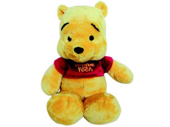 Мягкая игрушка медведь Disney Винни 25 см желтый плюш 6901014010563 мягкая игрушка disney салли герой мультфильма голубой текстиль 25 см