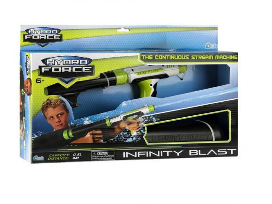 Водный бластер Hydro Force Infinity Blast со съемным резервуаром для мальчика зеленый 7152 zing hydro force zg658