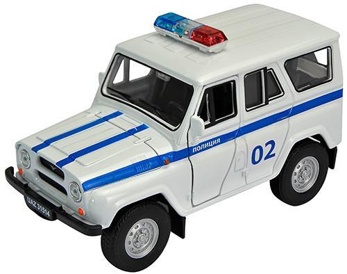 Полиция Welly УАЗ 31514 1:34-39 4891761238063 welly модель машины уаз 31514 милиция welly