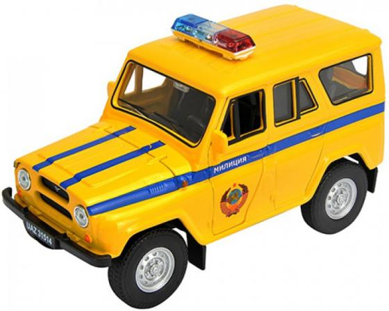 Автомобиль Welly УАЗ 31514 Милиция 1:34-39 4891761238056 autotime collection 11446 уаз 31514 вдв