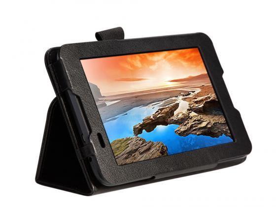 Чехол IT BAGGAGE для планшета Lenovo Tab 2 A7-30HC 7 ультратонкий искуственная кожа hard case черный ITLNA7302-1 чехол it baggage для планшета lenovo tab 2 a7 30hc 7 ультратонкий искуственная кожа синий itlna7302 4
