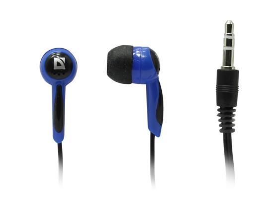 Фото - Наушники Defender Basic-604 черно-голубой шумовка attribute basic