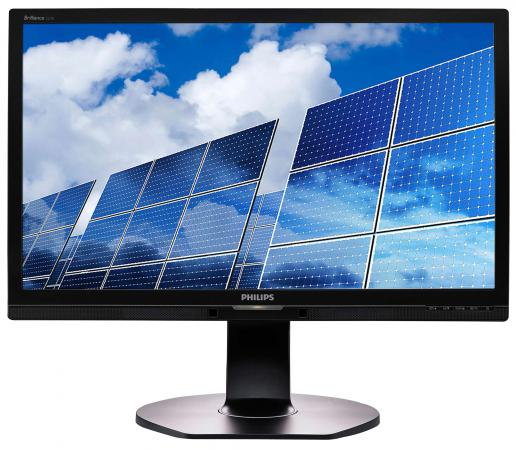 Монитор 21.5 Philips 221B6QPYEB 00/01 черный AH-IPS 1920x1080 250 cd/m^2 5 ms USB DVI VGA Аудио DisplayPort монитор 23 nec multisync e233wmi черный ips 1920x1080 250 cd m^2 6 ms dvi d vga displayport