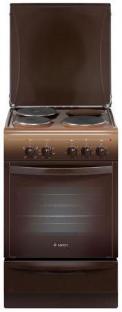 Электрическая плита Gefest 5140 0001 коричневый газовая плита gefest пгэ 6102 02 0001 электрическая духовка коричневый