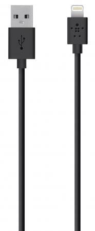 Кабель Lightning 1.2м Belkin F8J023bt04-BLK круглый черный стоимость
