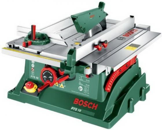 Дисковая пила Bosch PTS 10 дисковая пила bosch gks 65 g 0 601 668 903