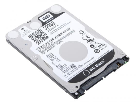Жесткий диск для ноутбука 2.5 320 Gb 7200rpm 32Mb cache Western Digital Black SATAIII WD3200LPLX жесткий диск 3 5 8 tb 5400rpm 128mb cache western digital purple sataiii wd80purz