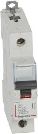 Автоматический выключатель Legrand DX3 6000 10кА тип C 1П 32А 407673 автоматический выключатель tdm ва47 100 1р 35а 10ка d sq0207 0006